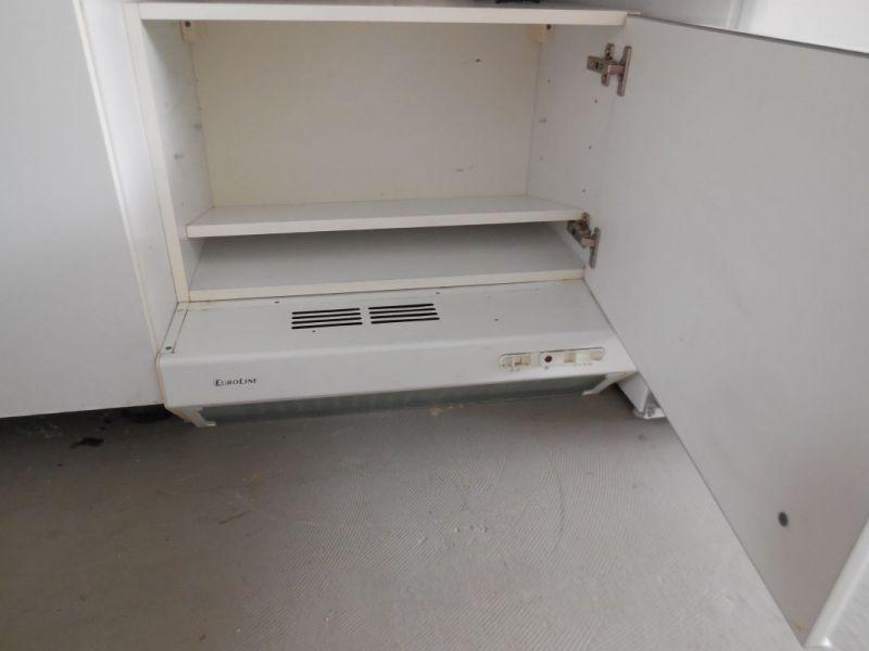Küchenzeile mit spüle kühlkombination dunstabzugshaube gebraucht